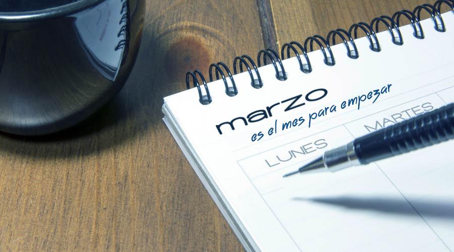 marzo es el mes para empezar