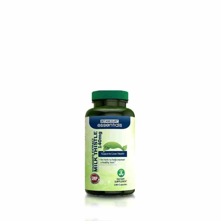 Milk Thistle (Cardo Mariano o lechoso) Betancourt Essentials 100 Capsulas