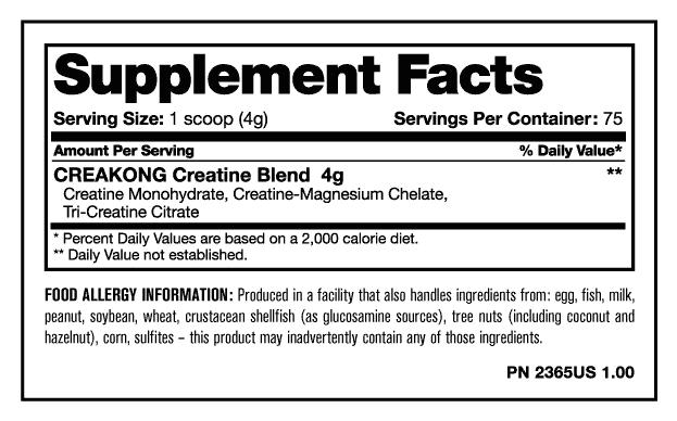Creakong Mutant 75 Servicios