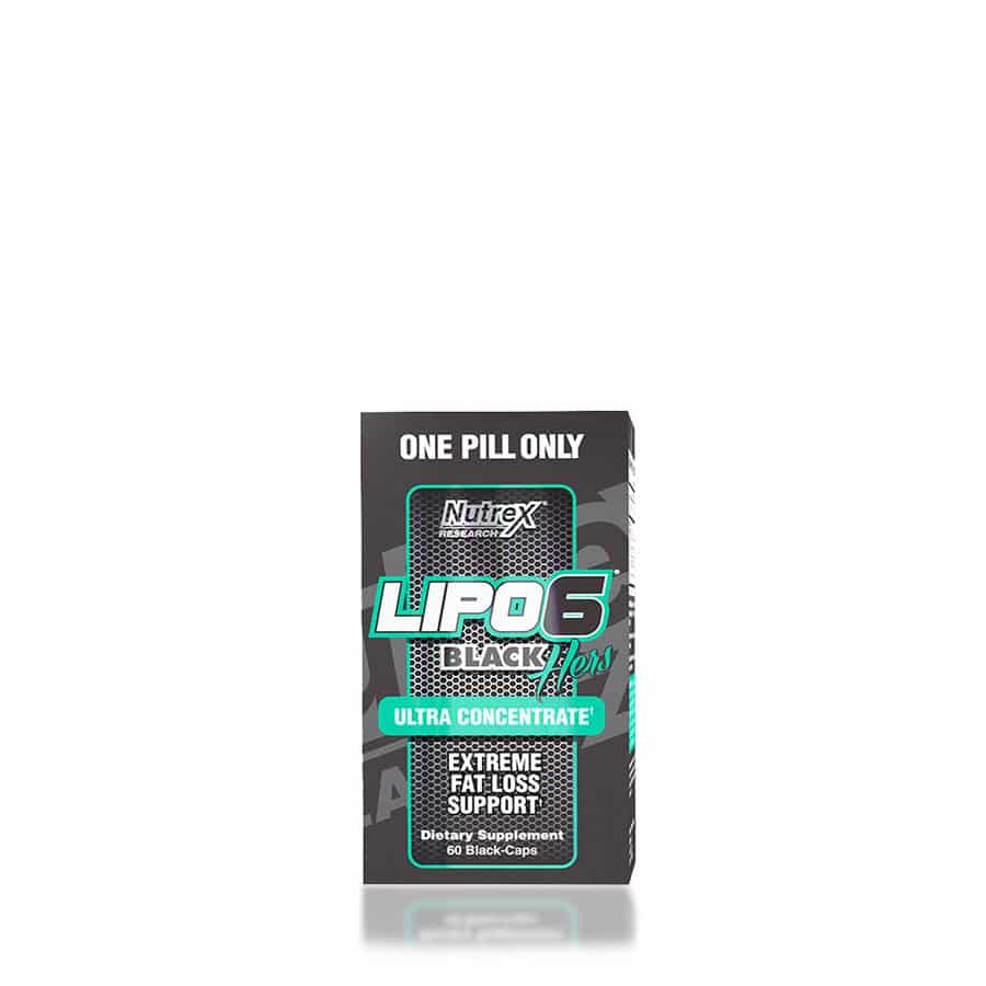 Lipo 6 black Hers Ultra Concentrate Nutrex 60 Capsulas