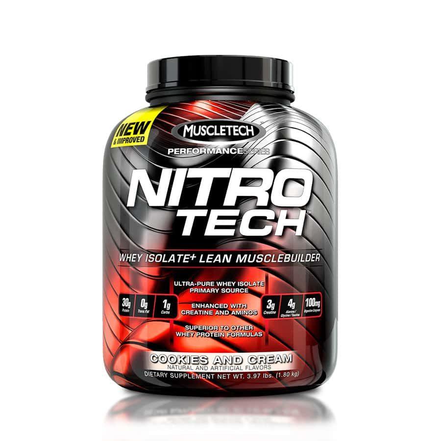 Nitrotech Muscletech 4 lbs