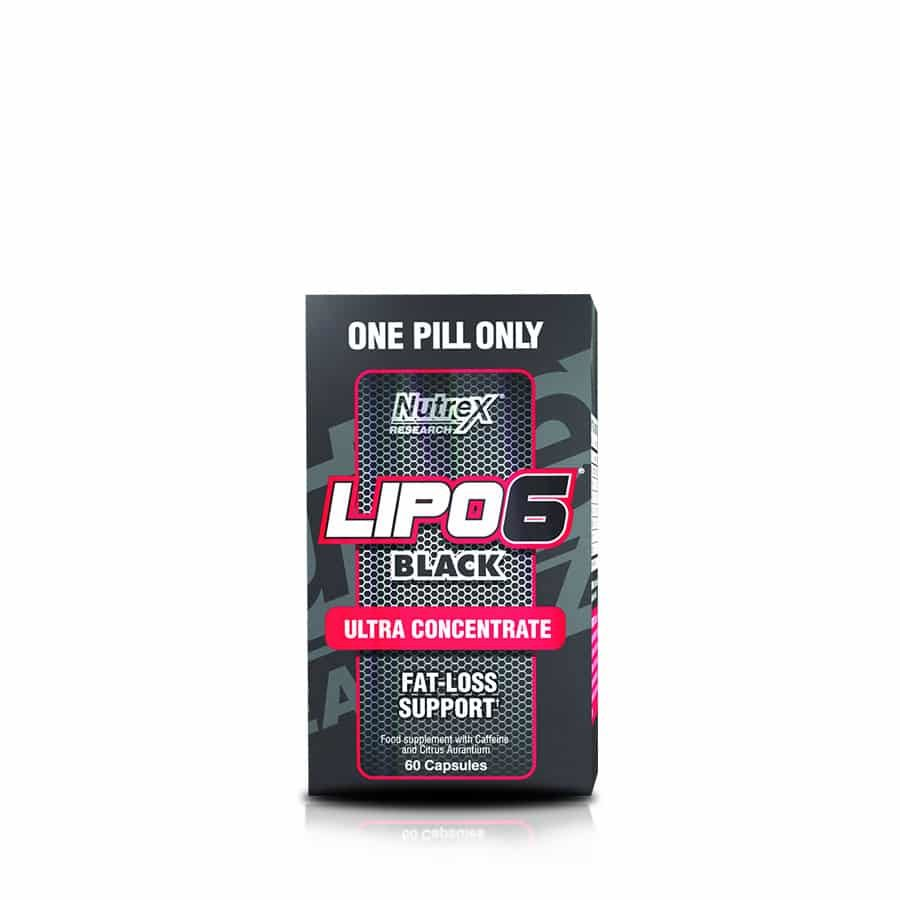 Lipo 6 Black Ultra Concentrate Nutrex 60 Capsulas