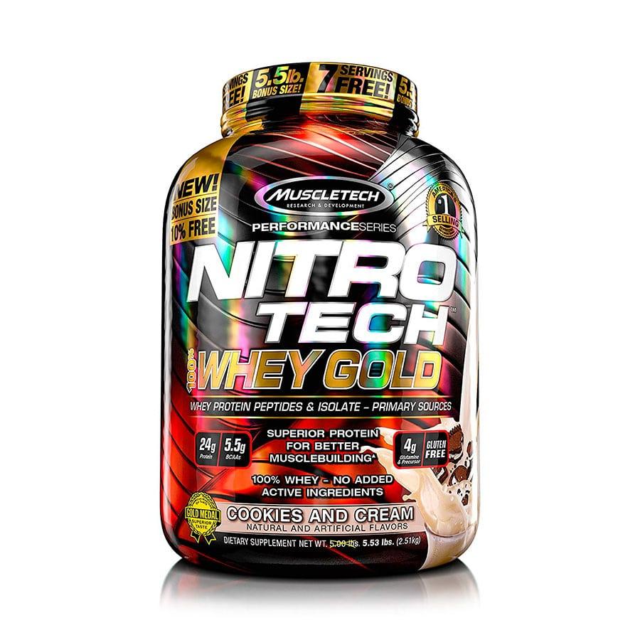 Nitrotech Whey Gold