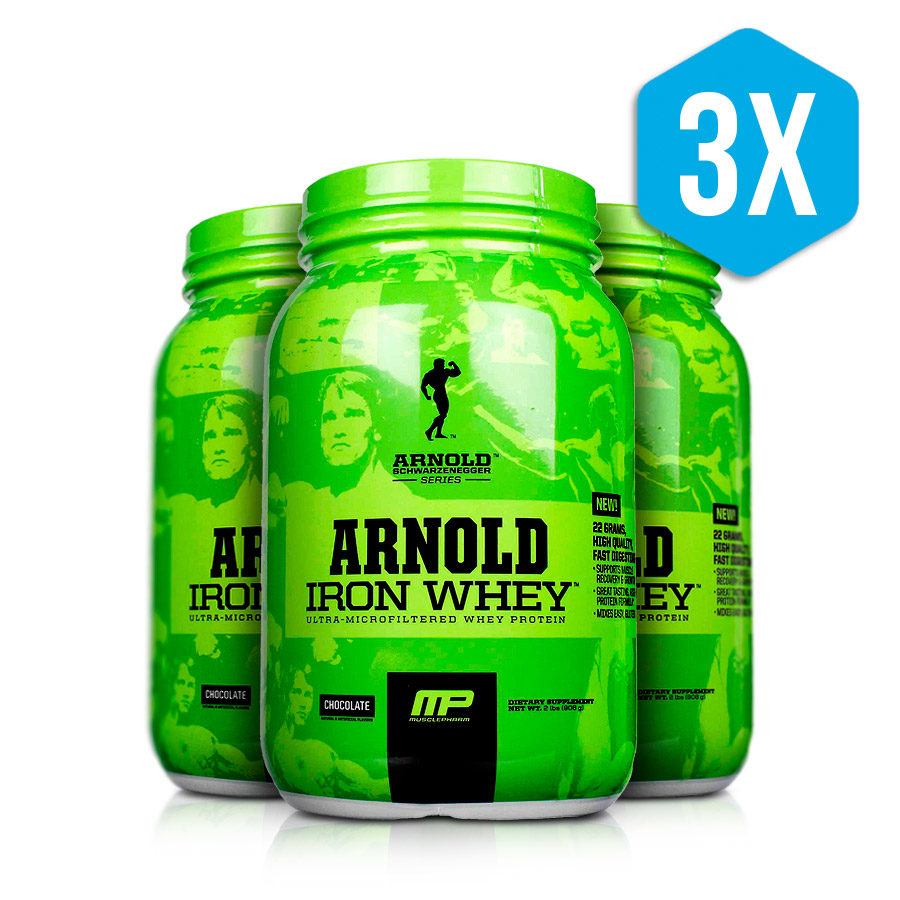 Iron Whey Arnold Schwarzenegger Series MP 2 Lb
