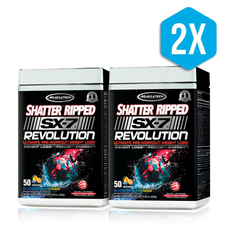 Shatter Ripped SX-7 Revolution Muscletech
